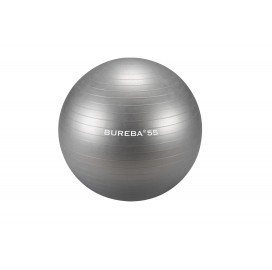 Cvičební balón Bureba 55 cm - stříbrný