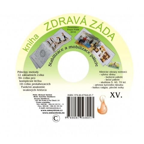 CD kniha zdravá záda (originál Mudr. Smíšek)