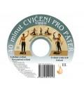 DVD 40 cviků pro páteř + elastické lano SM systém (originál Mudr. Smíšek)