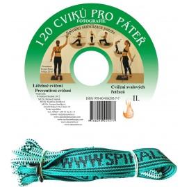 CD 120 cviků pro páteř + elastické lano SM systém (originál Mudr. Smíšek)