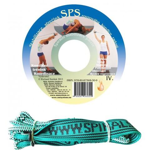 CD 150 cviků pro páteř + elastické lano SM systém (originál Mudr. Smíšek)