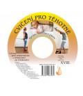 CD cvičení pro těhotné + elastické lano SM systém (originál Mudr. Smíšek)