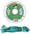CD skolióza - léčba v krocích + elastické lano SM systém (originál Mudr. Smíšek)