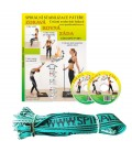 DVD 11 základních cviků + elastické lano SM systém (originál Mudr. Smíšek)