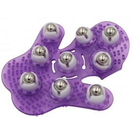 Masážní rukavice (fialová)
