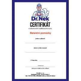 Kurz balančních pomůcek s certifikátem