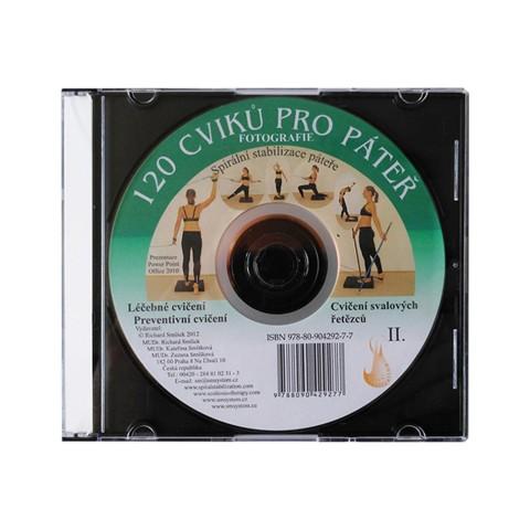 CD 120 CVIKŮ PRO PÁTEŘ (originál Mudr. Smíšek)