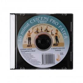 DVD 40 cviků pro páteř (originál Mudr. Smíšek)